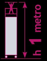 torre móvil de 1 metro