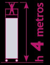 torre móvil de 4 metros