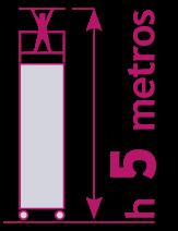 torre móvil de 5 metros