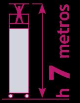 torre móvil de 7 metros