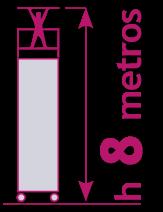 torre móvil de 8 metros
