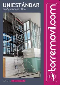 Información del modelo de andamio de aluminio UniEstándar de torremovil.com