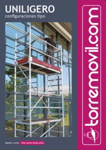 Información del modelo de andamio de aluminio UniLigero de torremovil.com