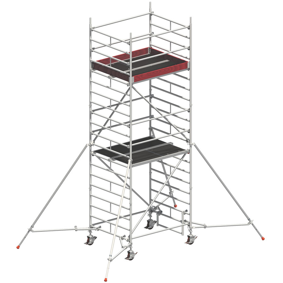 Torre móvil UniCompacto de 4 metros de altura